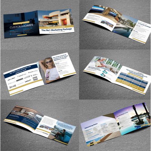 Bi-Fold Brochure for Custom Homes
