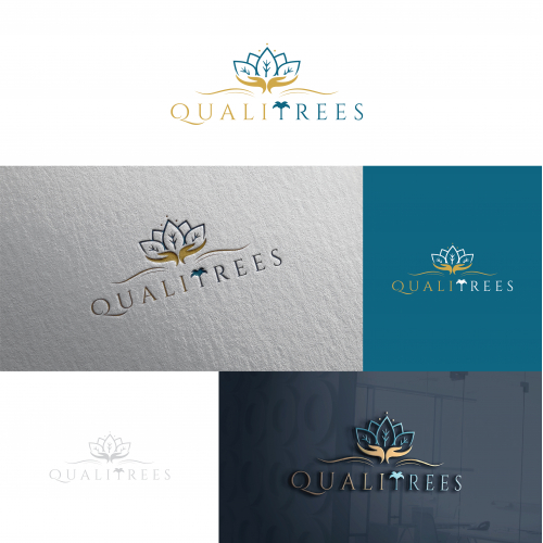 QualiTrees Logo Design