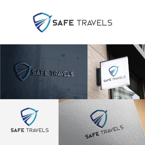 Safe Travels Logo Design