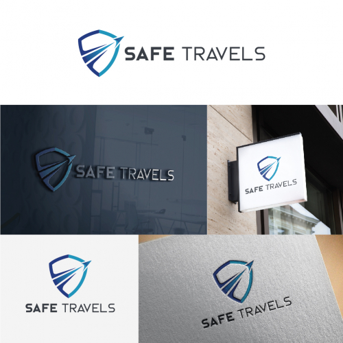 Safe Travels Logo Design