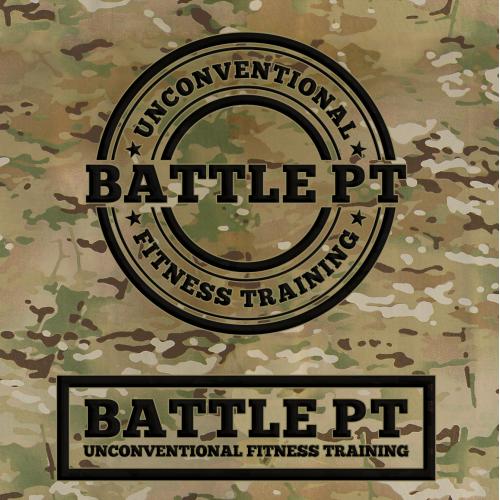 BATTLE PT Logo design