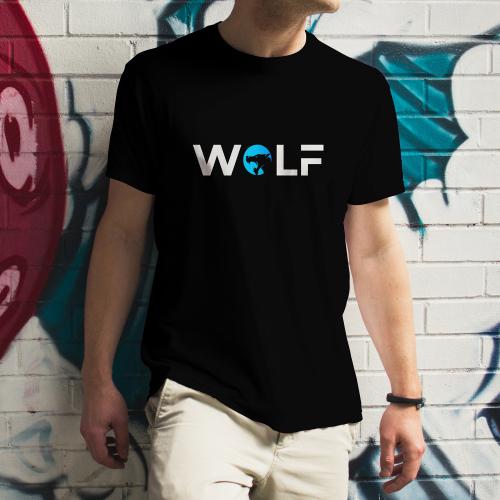 wolf t shirt design