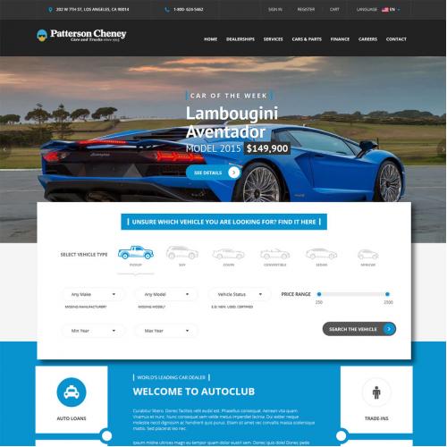Car Selleing Website