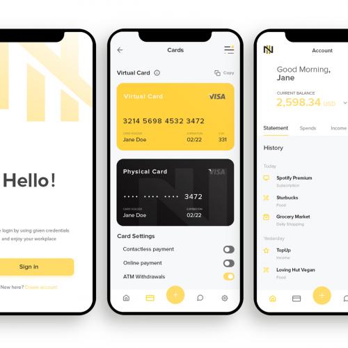 Nomad Bank App