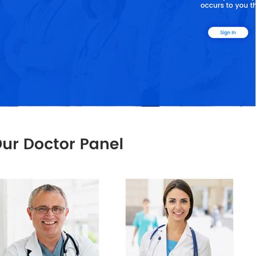 web design medical consulting