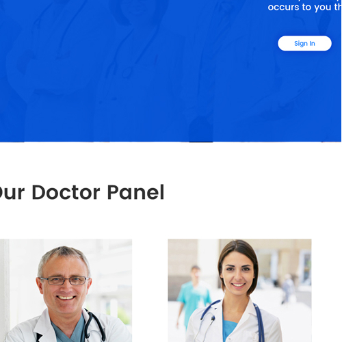 web design medical consulting