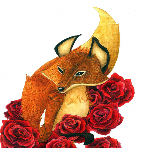 Fox from Little Prince