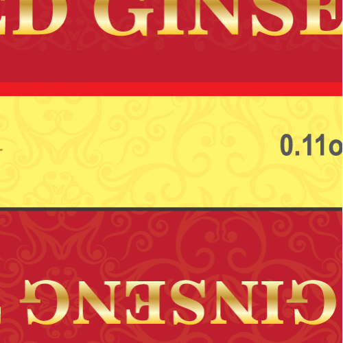 Gingseng Tea Packaging Design