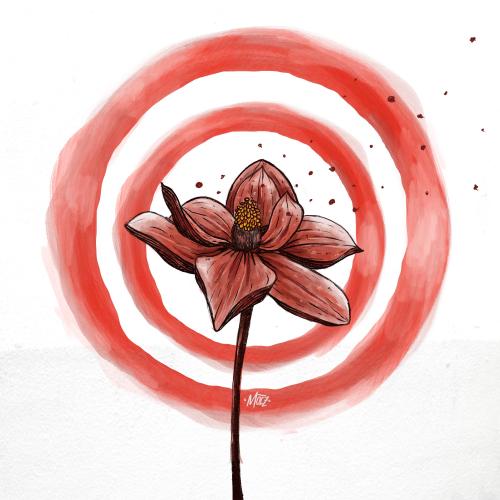 Flower Illustration Wallpaper