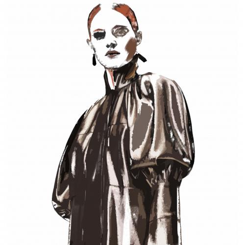fashion illustration. digital.