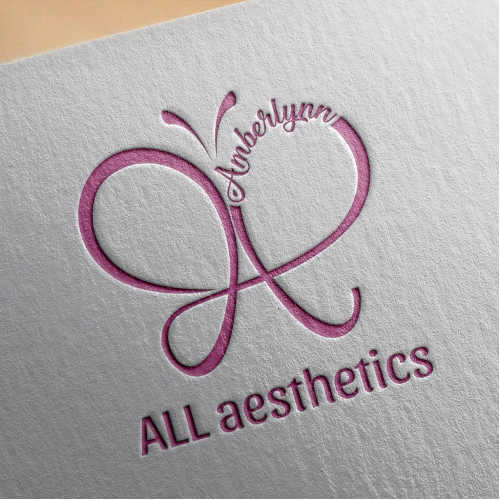 ALL aestetics logo design concept