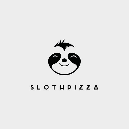 sloth pizza logo