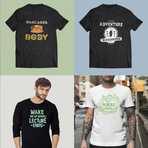 Merchandise T-Shirts Design