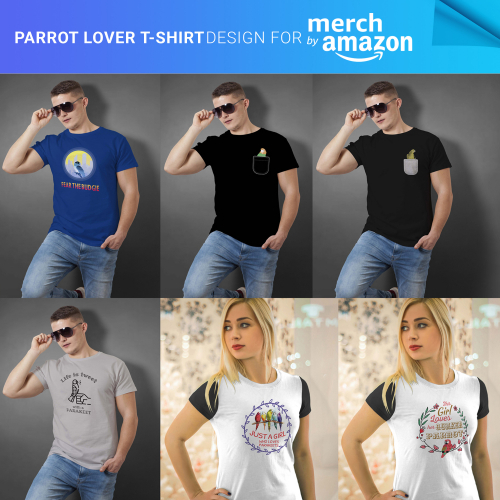 T-Shirts Design for Merch by Amazon