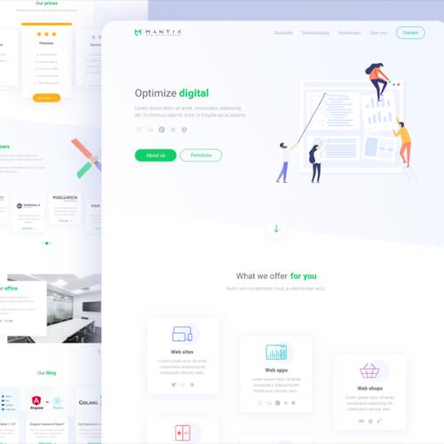 Mantik web development