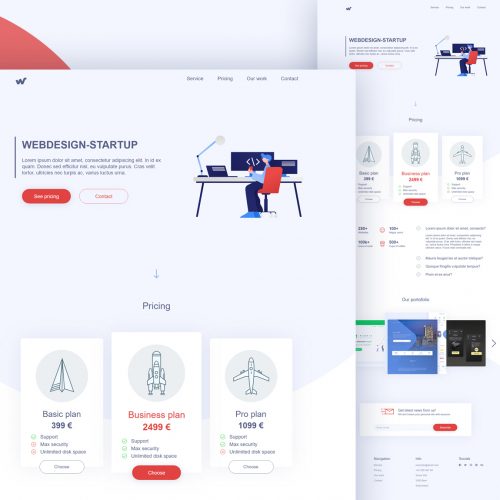 Startup web agency
