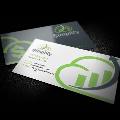 Winner - logo and B Card - Simplify - 640 usd