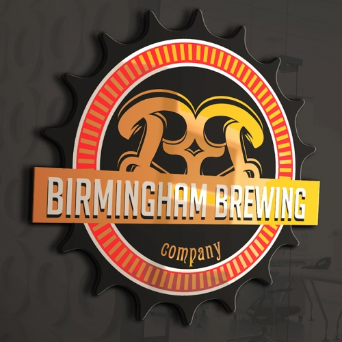 its Bear n Brewery logo design