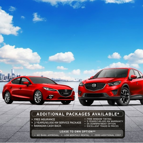 Banner design for automotive discounts/offers