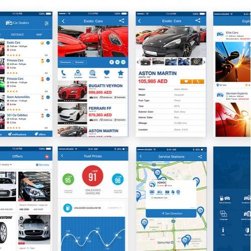 E news letter template for mobile app