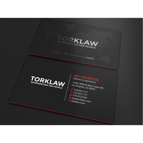TorkLaw Business Card