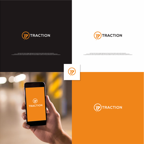 Design company logo for Traction