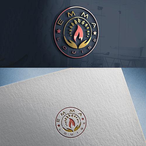 Candle diffuser perfumery logo
