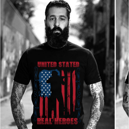 USA T shirt design