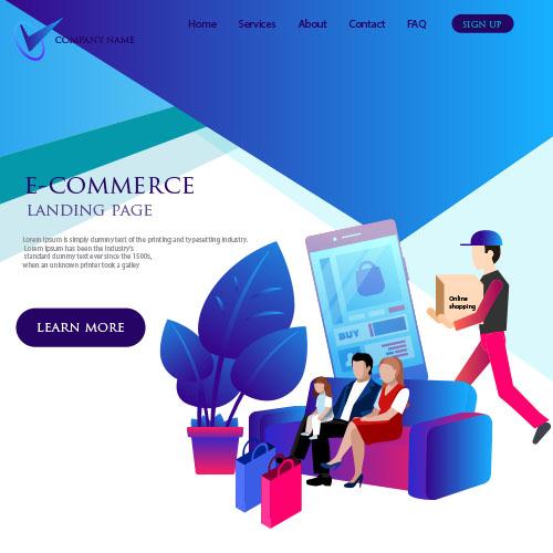 custom e commerce websites