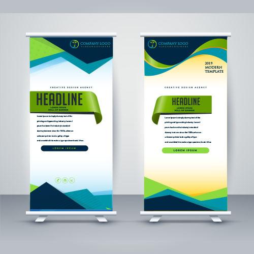 custom roll up banner design