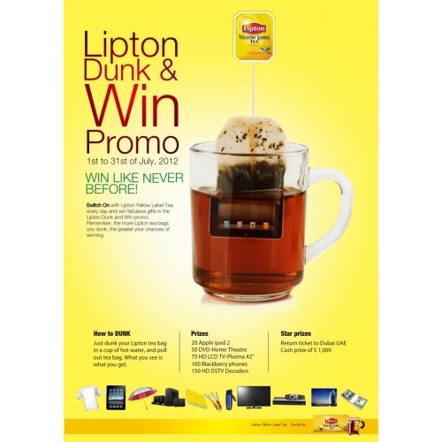 Lipton Tea Promo Ad