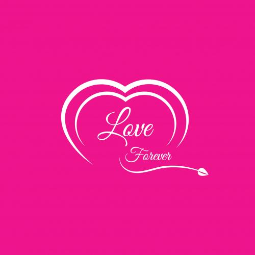 Love Romantic logo Design
