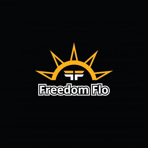 Freedom Flo F concept logo design