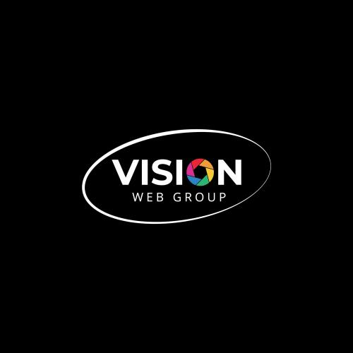 Vision web Group logo design