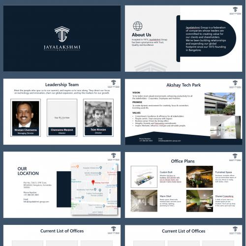 Presentation for Law Company