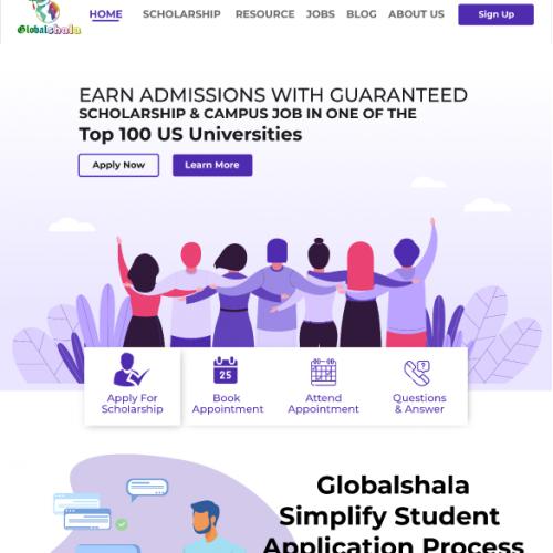 Web Design For Universty