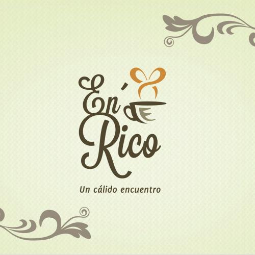 Corporate Design - En Rico Cafe Logo