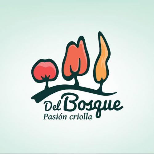 Corporate Design - Del Bosque Restaurant Logo
