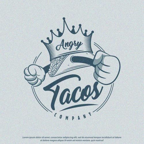 Logo Angry Tacos