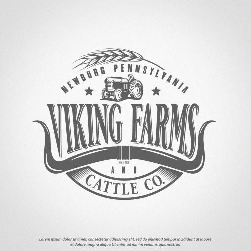 Viking Farms Logo
