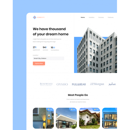 Homecity Website