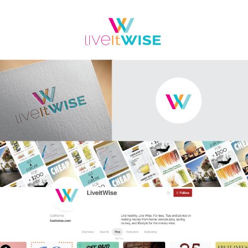 logo for lifestyle blog