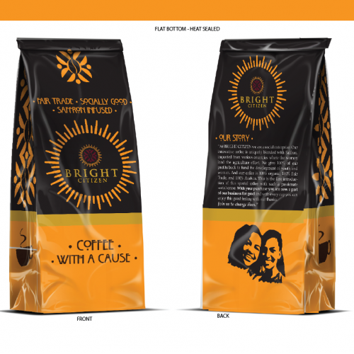 Participated design for coffee packaging