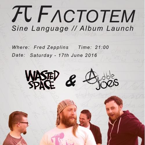 Factotem Album Launch Poster