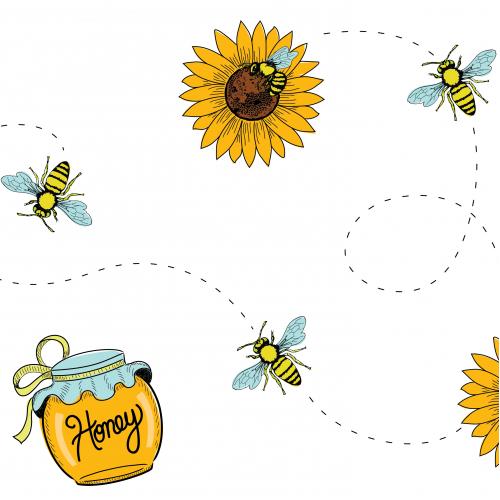 Digital Illustration Pattern