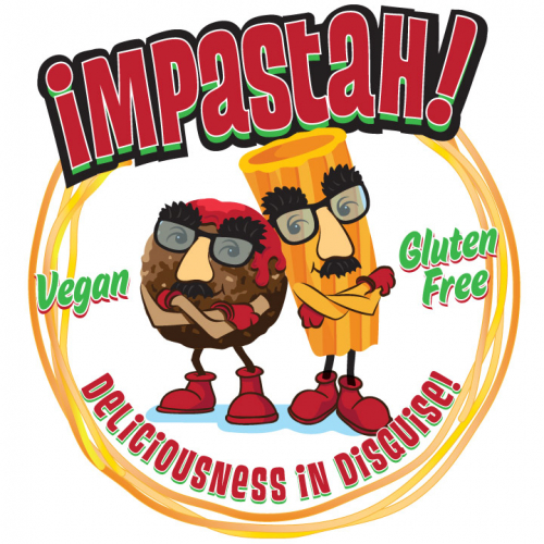 Impastah Food Truck Logo
