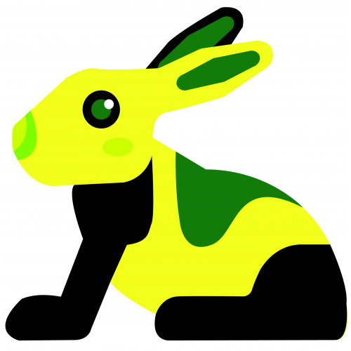 I am a yellow bunny