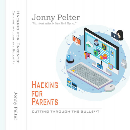 Hacking book cover design