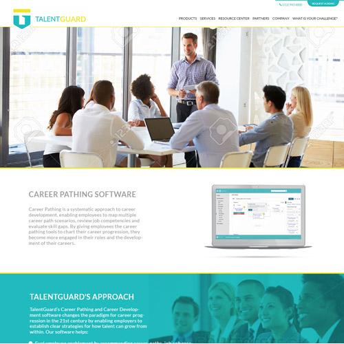 Talentguard Website Design