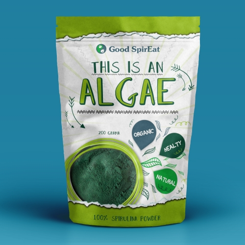 Packaging for algae product